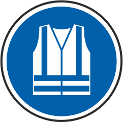 Rettungsweste benutzen