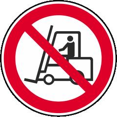Für Flurförderung verboten