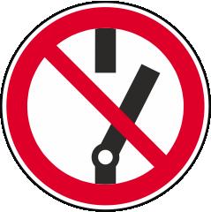 Schalten verboten